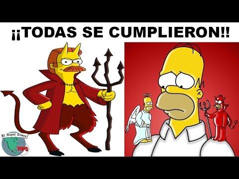 Las 7 Escalofriantes Profecías de los Simpson // El Nopal Times Tops