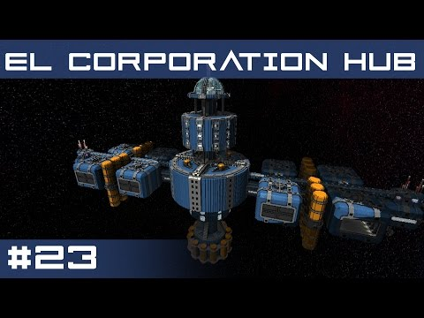 El Corporation Space Hub | StarMade Station Reviews Ep.23