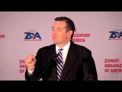 ZOA GALA: Ted Cruz, John Hagee