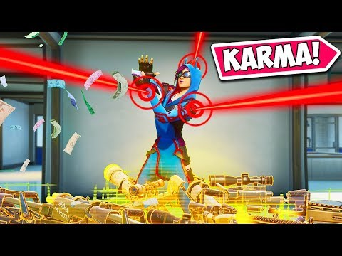 *LOW IQ* SQUAD KARMA FAIL!! - Fortnite Funny Fails and WTF Moments! #922