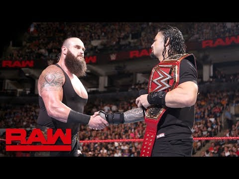 Roman Reigns and Braun Strowman to battle inside Hell in a Cell: Raw, Aug. 27, 2018 thumbnail