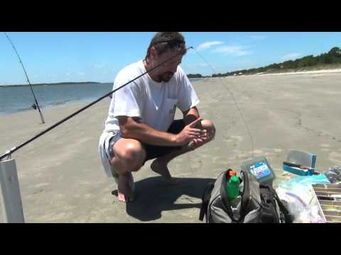 Shark Fishing The Surf.... Quick how to