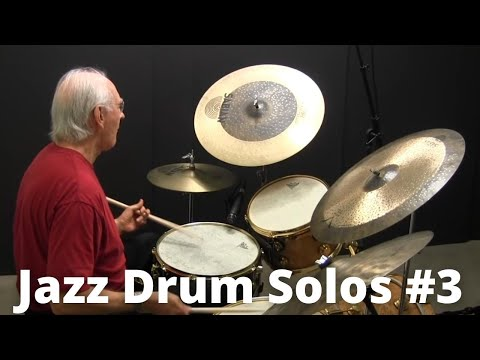 Jazz Drum Solos - Lesson #3 With Colin Bailey - Online Jazz Drum Lessons With John X