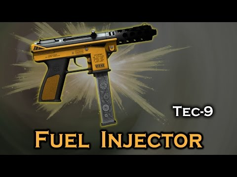 Fuel Injector Tec - 9 StatTrak stickers skin preview FN/MW/FT/WW/BS — CS:GO