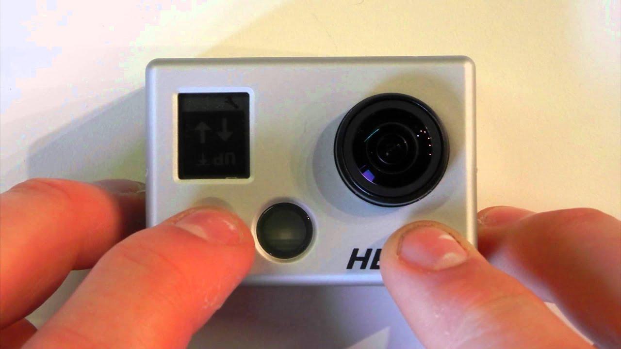 how to change password for gopro