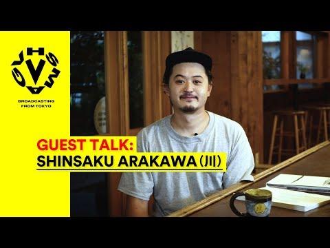 SHINSAKU ARAKAWA(川) - GUEST TALK [VHSMAG]