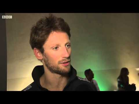 2015 Abu Dhabi - Post-Race: Romain Grosjean