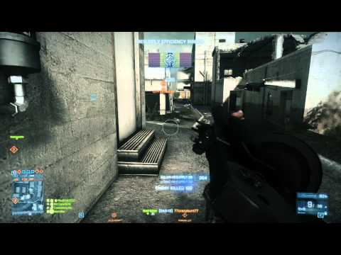 Battlefield 3 : DAO-12 + Slugs Gameplay