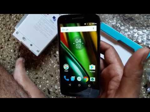 Unboxing Moto E 3 Power @  gadgets and technology segment