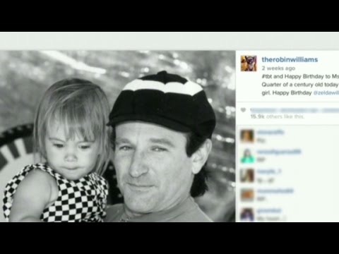 Robin Williams' final tweet
