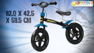 Batman Balance Bike by HAUCK TOYS FOR KIDS