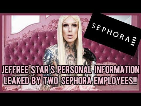 JEFFREE STAR'S PERSONAL INFORMATION LEAKED BY TWO SEPHORA EMPLOYEES ⎮ EXCLUSIVE RECEIPT INCLUDED!