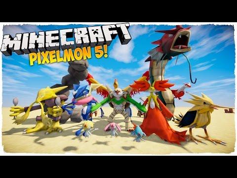 👉 ¡Llega la sexta generación!   Pixelmon 5 mod MINECRAFT 1.10.2 Español   Pokemon en Minecraft