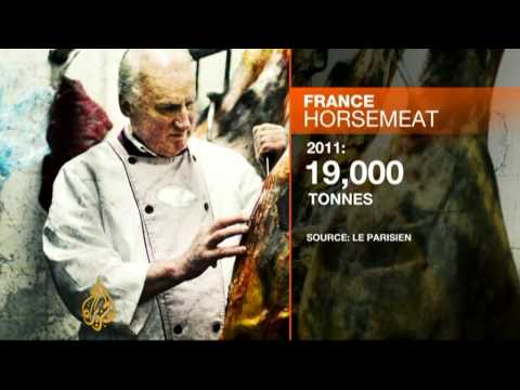 French appetite grows for horsemeat