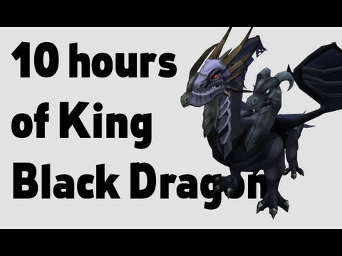 Loot from 10 hours of King Black Dragon (updated)