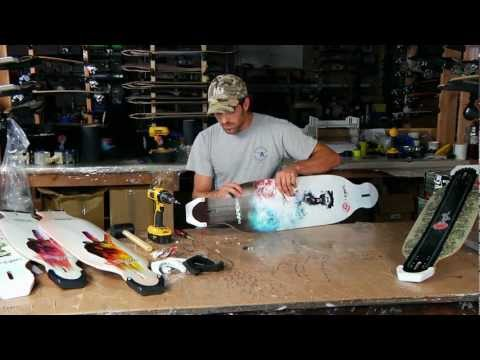 How to Add PK Noseguards to your Original Apex Longboard