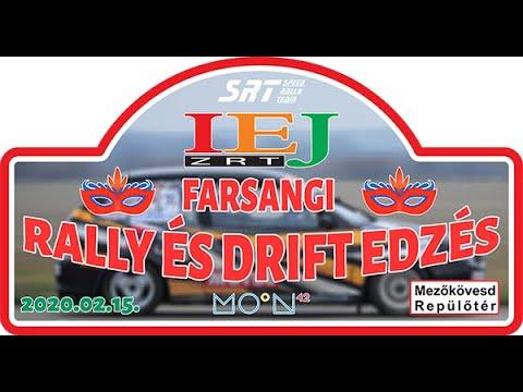 SRT I.E.J. FARSANGI RALLY ÉS DRIFT EDZÉS