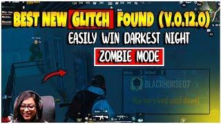 Best GLITCH found: Trick to win DARKEST NIGHT ZOMBIE MODE without killing 1 Zombie in PUBG MOBILE 😱