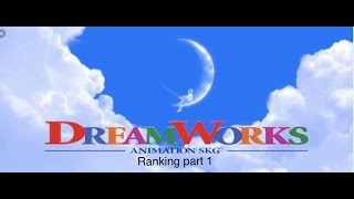 Ranking of the 32 dreamworks animated films