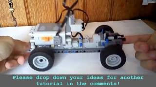 896gerards tutorials 01 | Building a basic Lego Technic remote control car chassis!