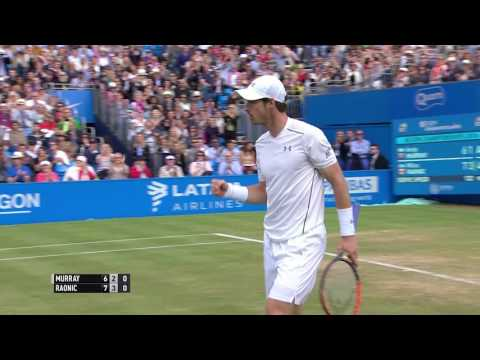 BNP Paribas Shot of the Day - Aegon Championships - Sunday 19th June