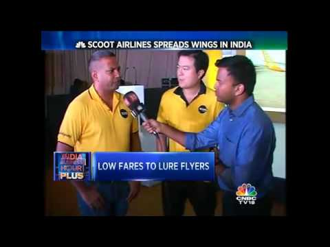 Scoot Airlines Spreads Wings In India