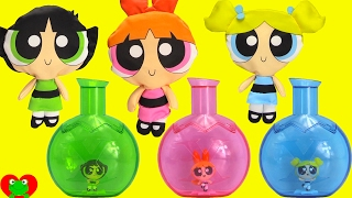 Power Puff Girls Grow Magically to Beat Mojo Jojo