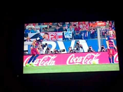 el 1-2 del Barcelona ante el Atlético de Madrid