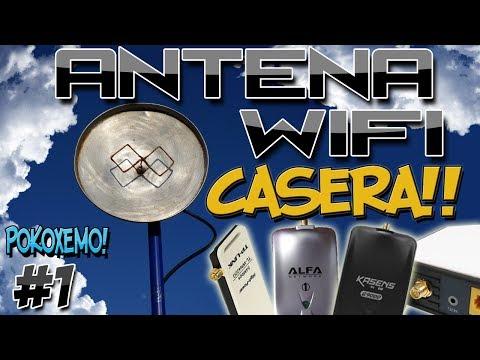 """Como Hacer una Antena Wifi Casera Facil """"Bien Explicado"""""""