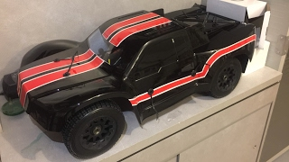 Unboxing my Cousins First 5th Scale⛽️⛽️ROVAN BAJA 5SC