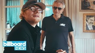 Download Lagu Ed Sheeran Delivers 'Perfect Symphony' Featuring Andrea Bocelli | Billboard News Gratis STAFABAND