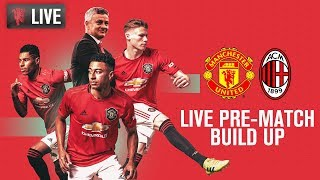 Manchester United v AC Milan - MUTV Pre-Match Build Up