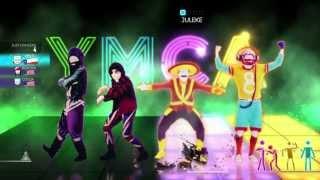 Just Dance 2014 World Dancefloor Wii U Gameplay - Village People: YMCA