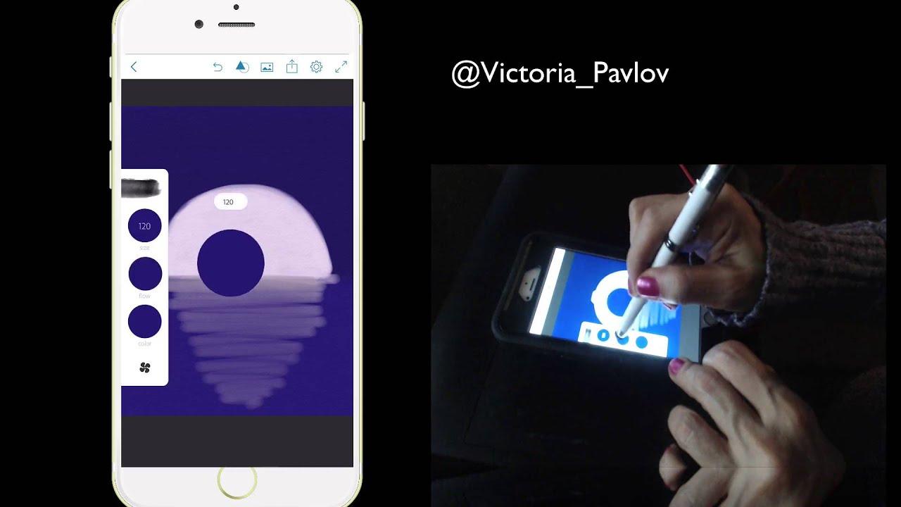 Как делать мазки на фото на андроид