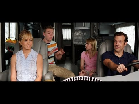 https://www.facebook.com/werethemillers http://www.werethemillers.com In theaters August 9th.  From New Line Cinema comes the action comedy Were The Millers, starring Jennifer Aniston (Horrible Bosses) and Jason Sudeikis (The Campaign).  The film is directed by Rawson Marshall Thurber (Dodgeball: A True Underdog Story).
