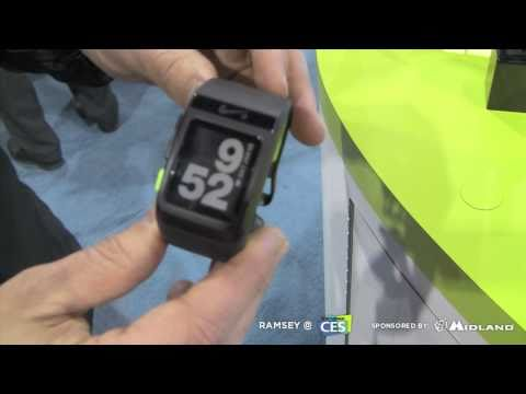 Nike Plus GPS watch powered by TomTom at CES 2011