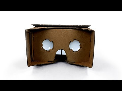 Google Cardboard - Build Your Own Virtual Reality Headset