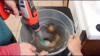 Fastest Way to Peel Potatoes