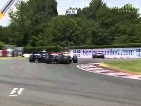 Michael Schumacher, Nico Rosberg, Juan Pablo Montyoa & Christijan Albers - Montreal 2006
