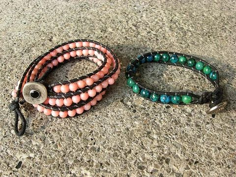 DIY: Beaded Wrap Bracelet