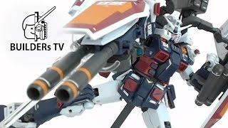 MG FULL ARMOR GUNDAM THUNDERBOLT Ver. ka Fast Build Up(MG 풀아머 건담 썬더볼트 버카, ガンダム サンダーボルト フルアーマー・ガンダム)