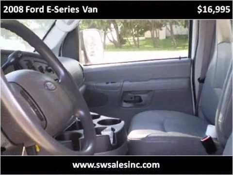 2008 Ford E-Series Van Used Cars Austin MN