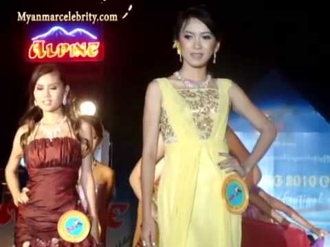 Myanmar Sexy Models Beauty Contest : Miss Ngwe Saung