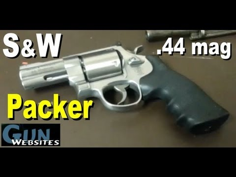 S&W 629 Packer .44 mag Revolver