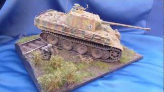 """""""Panther on the prowl"""" 1/35 scale diorama"""