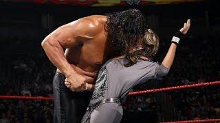 The Great Khali vs Beth Phoenix Match   WWE Beth Phoenix Kiss & Beats The Great Khali HQ