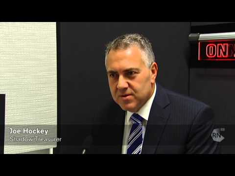 Budget 2013: Shadow Treasurer Joe Hockey [HD] ABC RN Breakfast