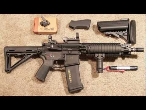 G&P Magpul Sentry M4 AEG Airsoft MOE Part 1