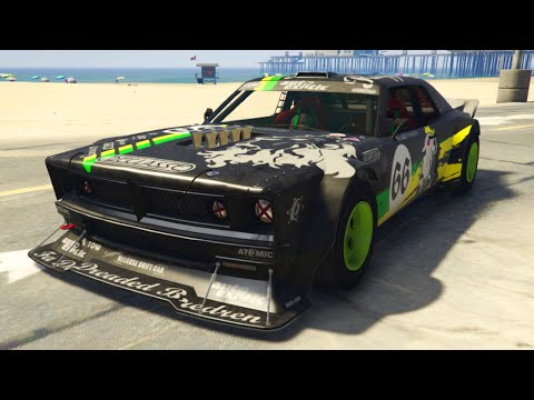 GTA 5 DLC - 5 NEW HIDDEN CARS GAMEPLAY & CUSTOMIZATION! (GTA 5 Cunning Stunts Update)