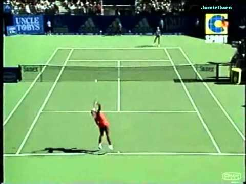 Serena Williams vs Anna Kournikova 2002 Sydney Highlights